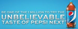 Gratis Pepsi Next de 2 litros