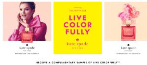 Muestra GRATIS de perfume  Kate Spade New York