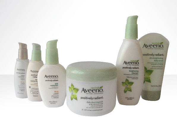AVEENO Positively Radiant Collection (1)