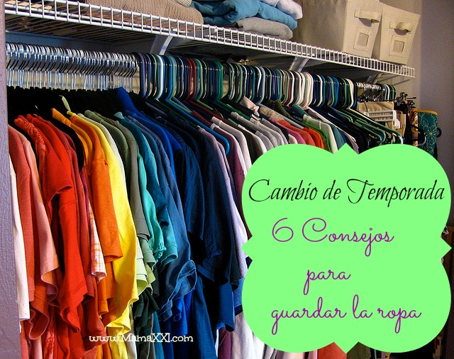 guardar ropa temporada