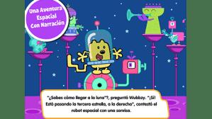 La aventura espacial de Wubbzy, primer app bilingue