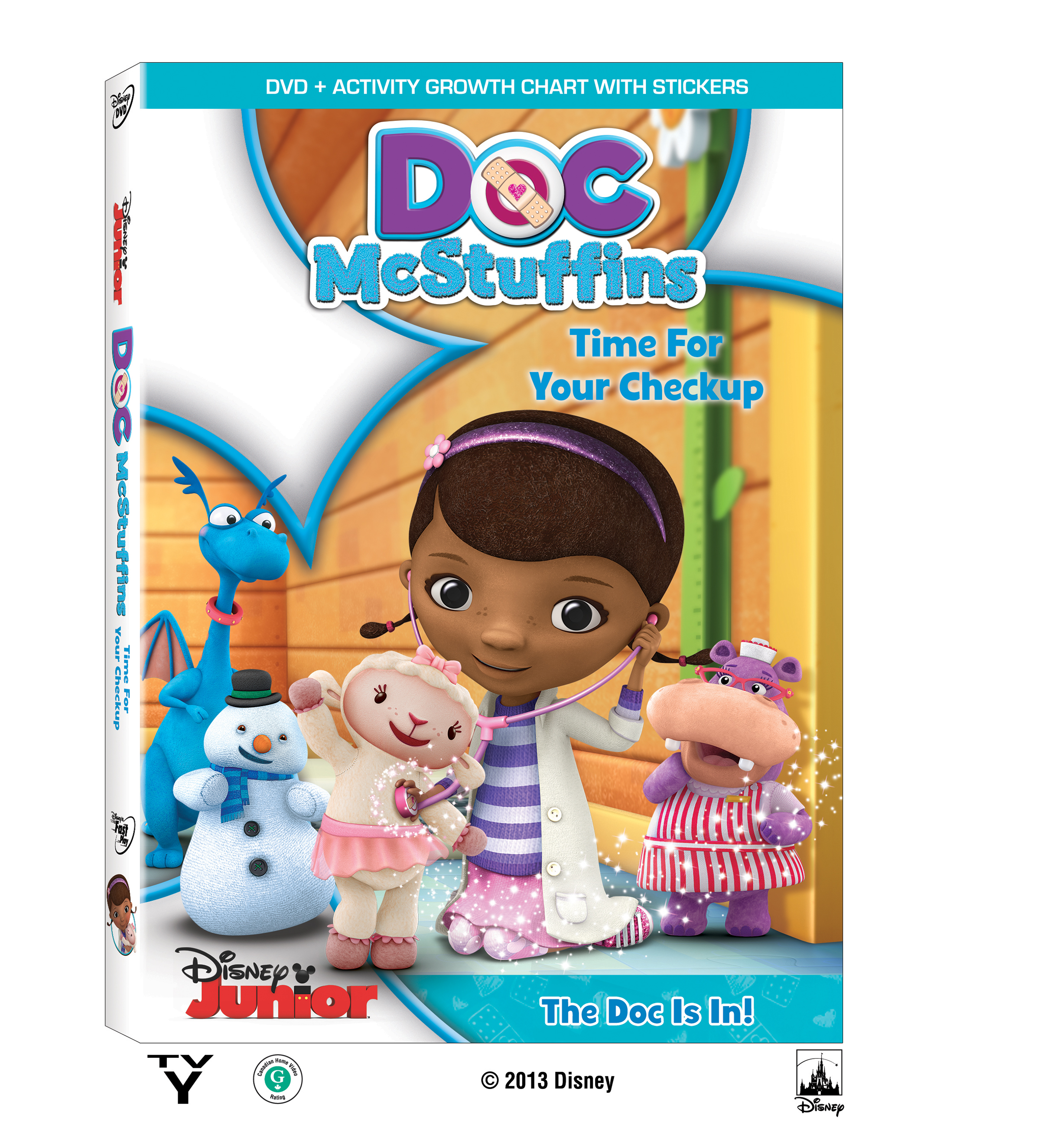Doc McStuffins: Time for you check up! DVD reseña y sorteo {2 ...