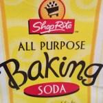 Limpieza con bicarbonato de sodio
