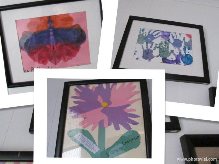 cuadros dibujos niños
