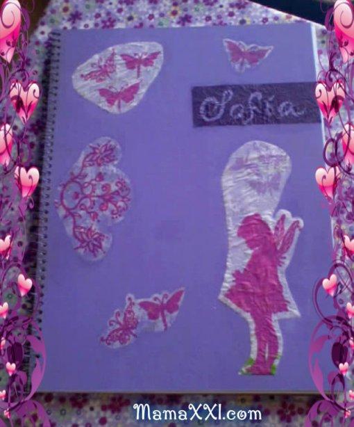 como hacer libro de recuerdos bebe