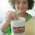 Soy una bloguera de Box Tops For Education + sorteo