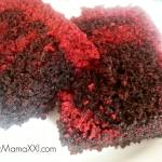 Torta Marmolada: chocolate y red velvet rápida, fácil y deliciosa!