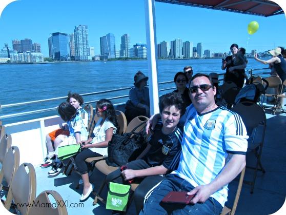 Paseo en barco con la Circle Line 2014 Kids Series por NY