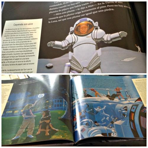 Max viaja a la Luna por Jeffrey Bennett