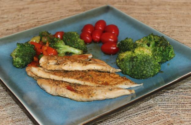 Receta Saludable: Pechuga de pollo con brocoli al wok