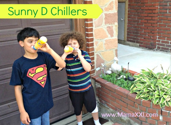 sunny d chillers