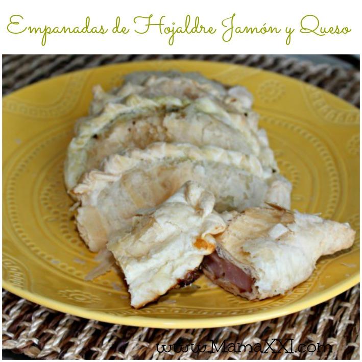 empanadas hojaldre jamon queso