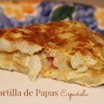 Tortilla de Papas Española: Receta