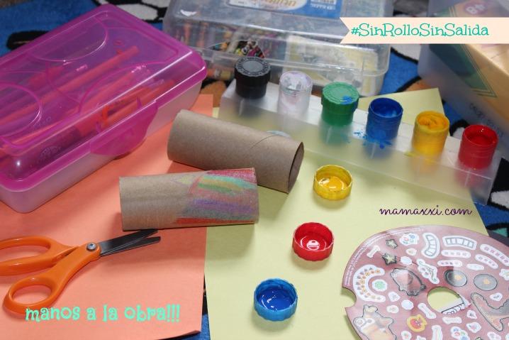 reciclar rollos papel higiénico
