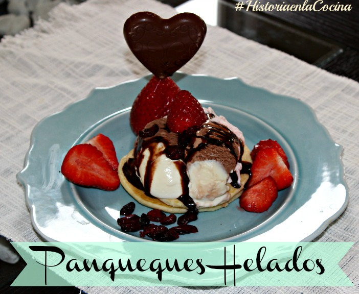 Panqueques helados receta