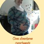 Cómo alimentarme correctamente en el embarazo