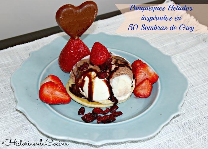 panqueques receta con helado