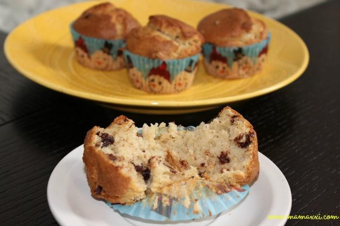 muffins con trozos de chocolates 2