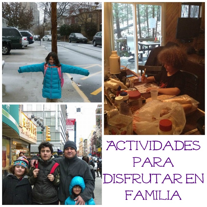 actividades para disfrutar en familia