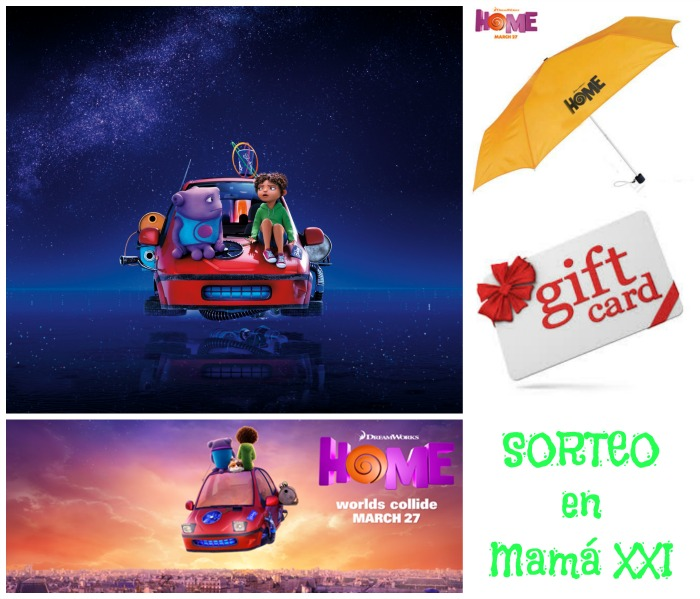 sorteo HOME DreamWorks