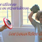 Cuando mis hijos se convierten en superhéroes. Los beneficios del juego de roles
