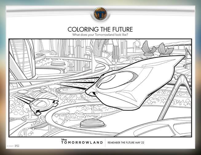 Imprimibles gratis de #Tomorrowland #DisneySide - Mama XXI