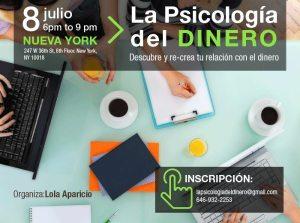 La Psicología del Dinero: curso en New York #sorteo