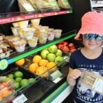 Opciones de comida al paso y saludable en 7-Eleven