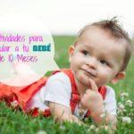 Actividades para estimular a un bebé de 10 meses