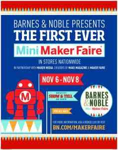 Aprende sobre los talleres educativos y gratis de Barnes & Noble #BNMakerFaire + Sorteo