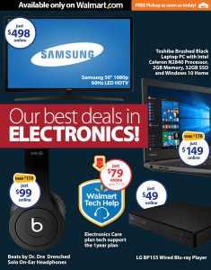 Walmart: Ofertas de Lunes Cibernético 2015 #CyberMonday