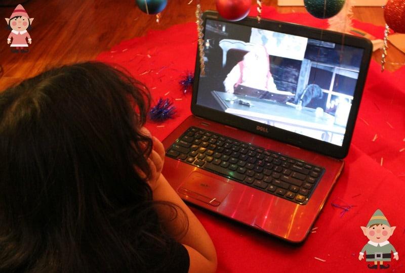 Video de Santa para mi hija