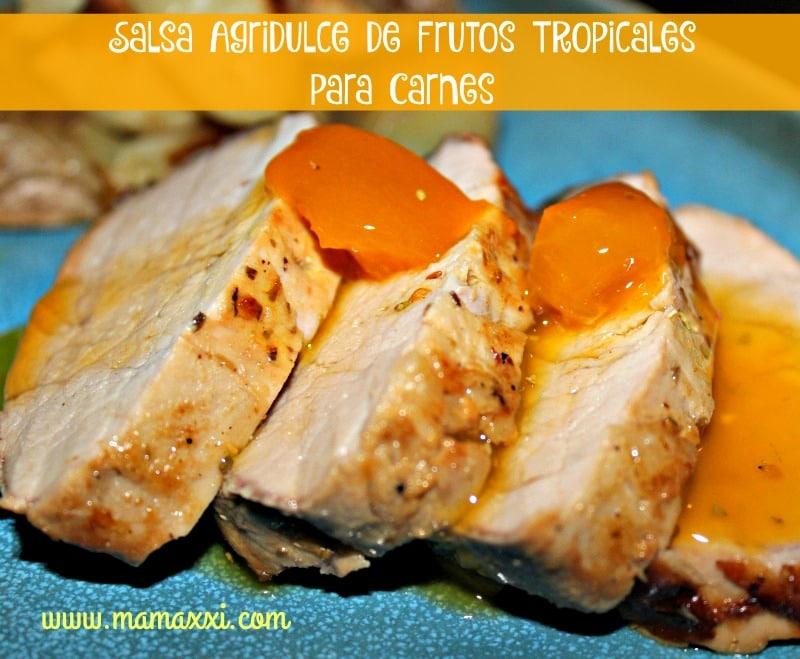 carne con salsa de mermelada #Receta