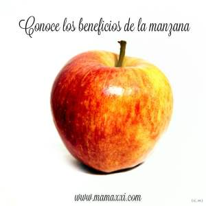 Conoce los beneficios de la manzana