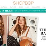 Ofertas de Primavera en ShopBop