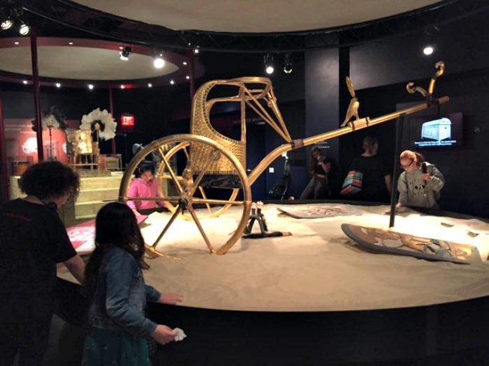 tutankamón, king tut, exhibición nyc, museo, egipcios,