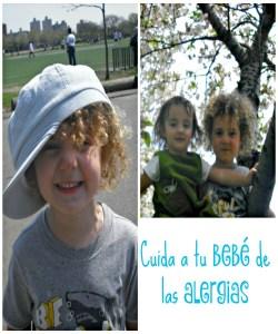 como proteger a los niños de las alergias