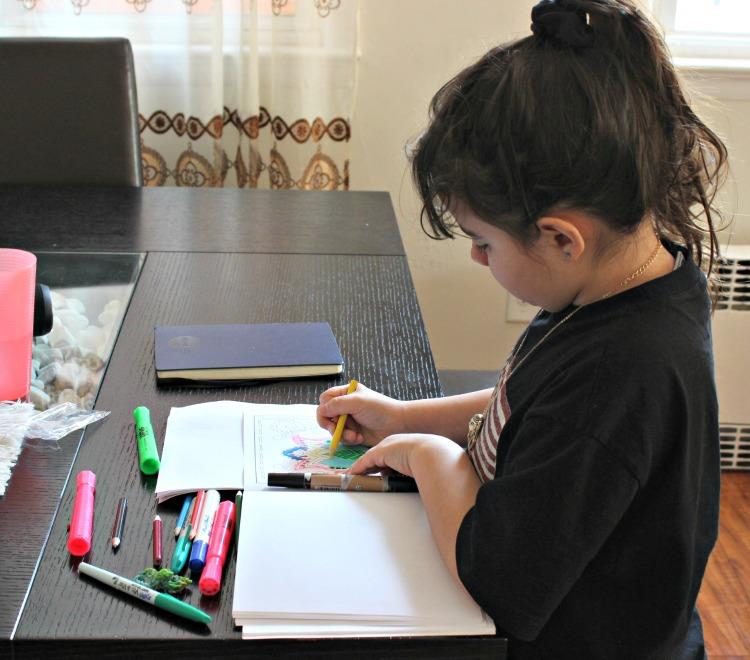 niña, arte, manualidad, hazlo tu misma, actividad niños,