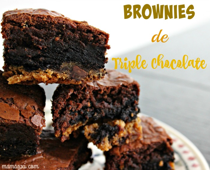 receta, brownie, chocolate