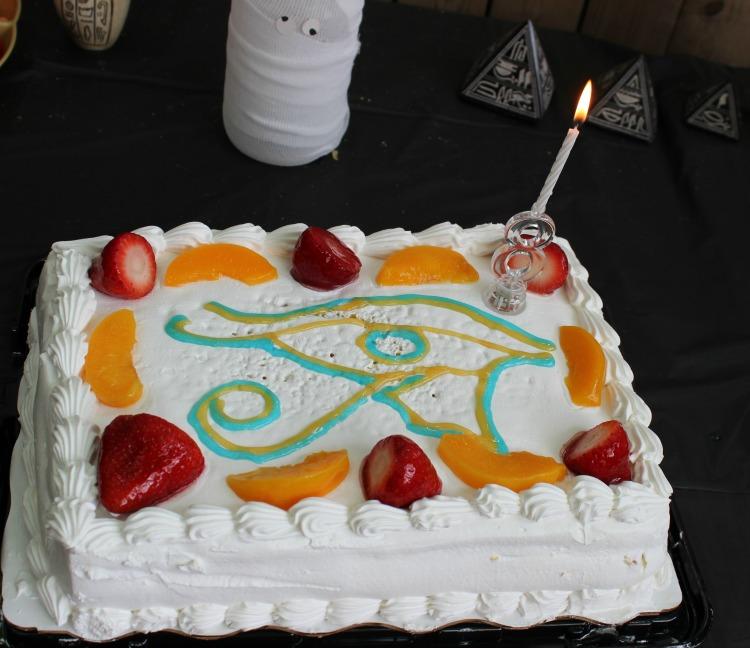 Torta, antiguo egipto, cumpleaños,