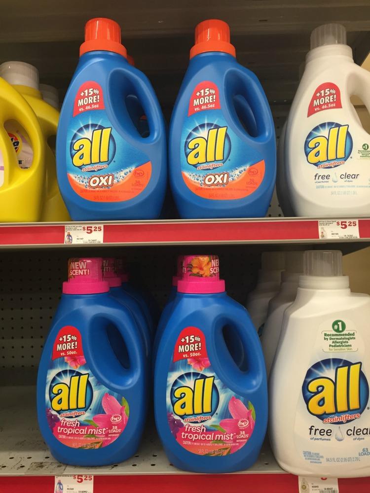 detergente para la ropa all