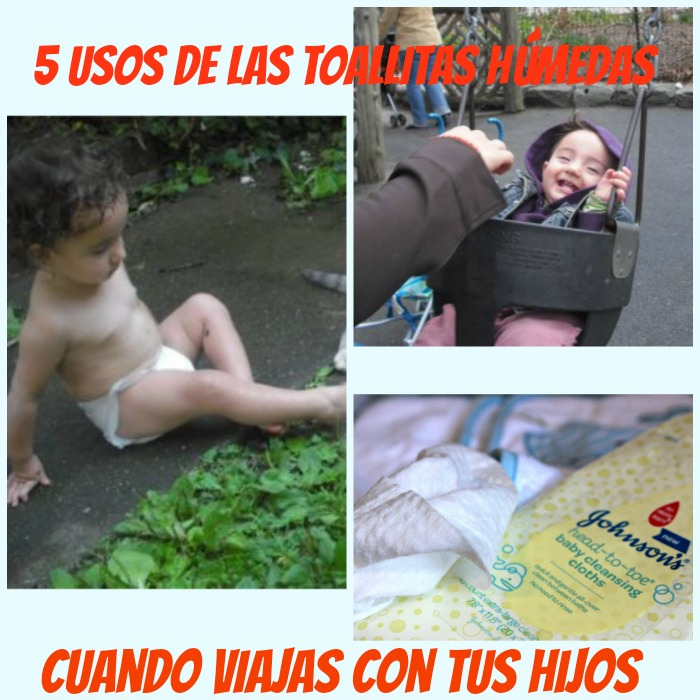 johnson's baby, wipes, viajar, bebé