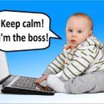 Como trabajar en casa con un bebé recién nacido
