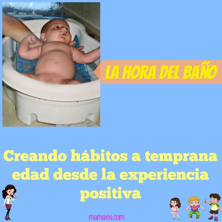 la hora del baño