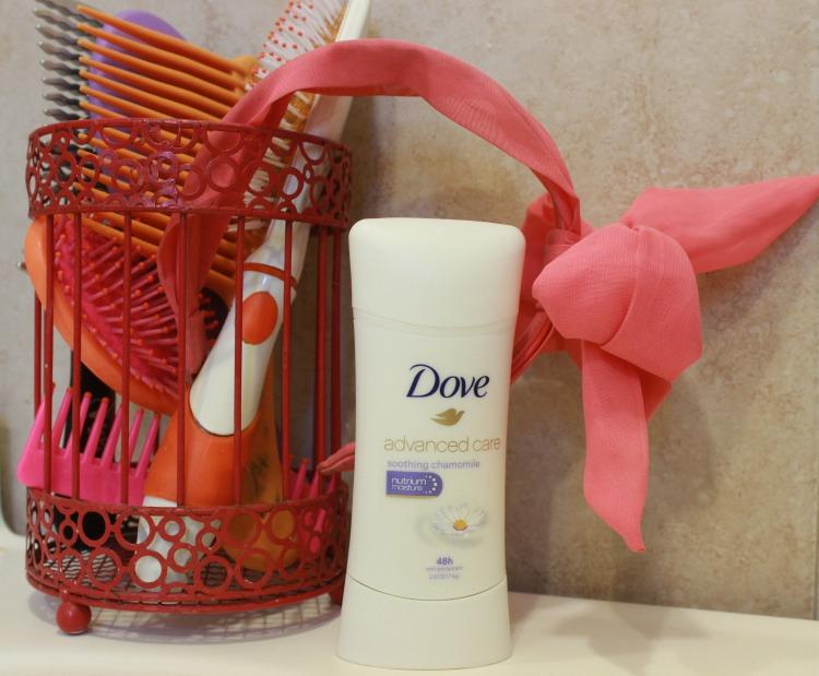 dove, mujer, latina, desodorante