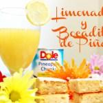 Bocaditos de Piña y Limonada