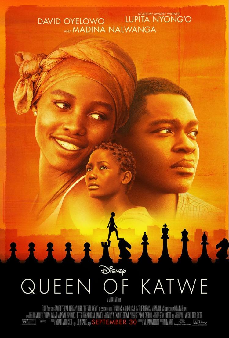 queen of katwe, disney, walt disney studios, movie, reseña, película, romina tibytt, mamá xxi