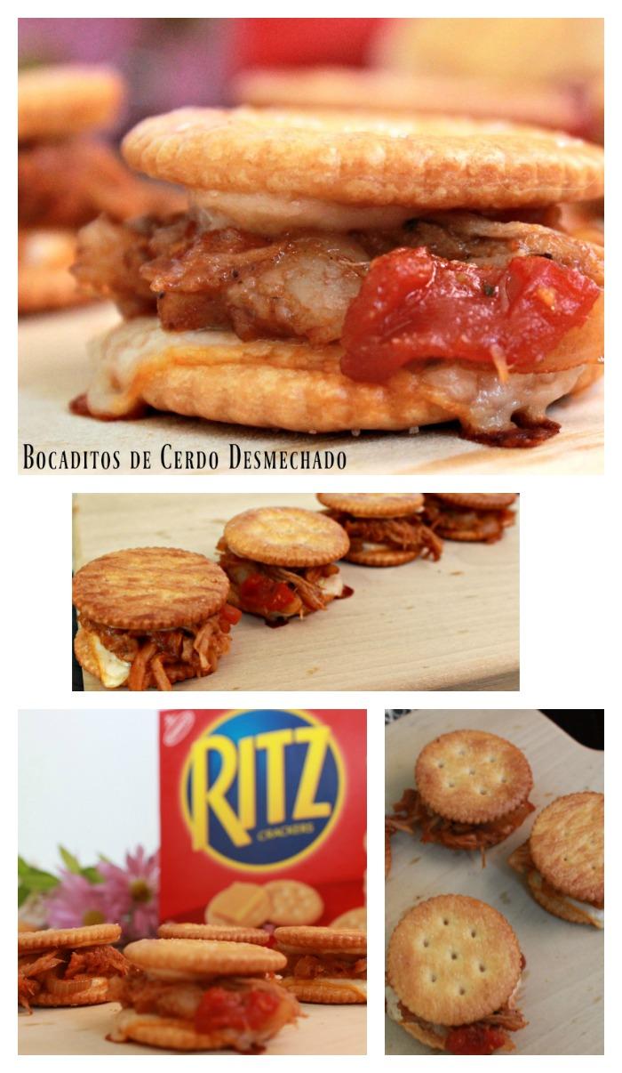 receta, cerdo, pulled pork, ritz