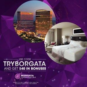 Aprovecha la promoción de Borgata para distraerte y probar suerte #TryBorgata