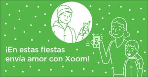 xoom, fiestas, navidad, fin de año, dinero,